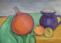 Apfel, Herbst, Ernte, Gemälde