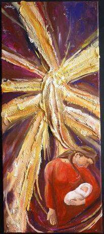 Jesus, Sakralkunst, Stern, Stall