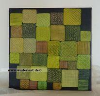 Quadrat, Expressionismus, Abstrakt, Malerei