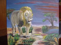 Afrika, Steppe, Sonne, Tiere