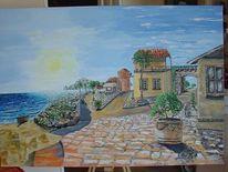 Landschaft, Mittelmeer, Süden, Sonne