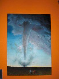 Malerei, Schach, Tornado