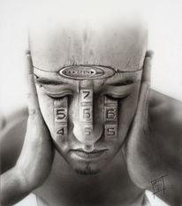 Menschen, Gesicht, Malerei
