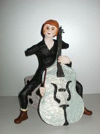 Cello, Skulptur, Plastik