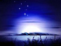 Insel, Himmel, Stern, Fantasie