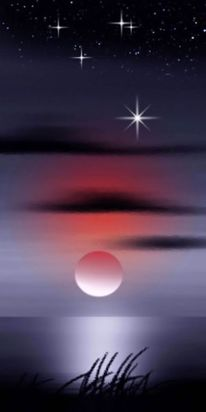 Strand, Universum, Stern, Himmel