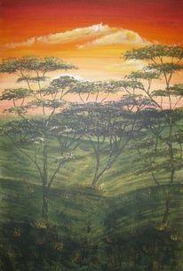 Geschenk, Afrika, Landschaft, Gold