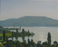 Realismus, Realistische malerei, Landschaftsmalerei, Landschaft