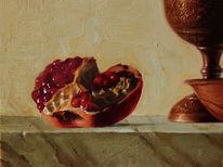Realismus, Realistische malerei, Stillleben, Ölmalerei