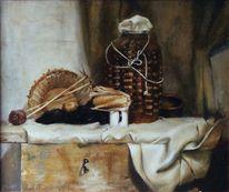 Ölmalerei, Stillleben, Realismus, Realistische malerei