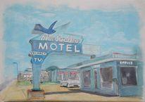 Usa, Tucumcari, Route 66, Fotografie