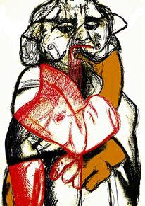 Mann, Akt, Digital art, Zeichnung