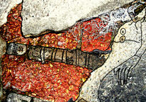 Menschen, Stein, Digital, Zeichnung