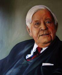 Portrait, Helmut schmidt, Hamburg, Bundeskanzler