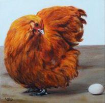 Ei, Tiere, Tierportrait, Realismus