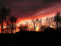 Herbstlandschaft, Fotografie, Herbst, Sonnenuntergang