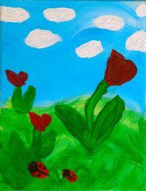 College schmincke, Acrylmalerei, Malerei, Frühling