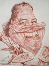 Schnellzeichner, Spurrealfotografien, Karikatur, Portrait