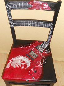 Möbelmalerei acryl, Bemalte stühle, Arzt, Farin urlaub