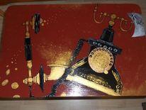 Stuhmalerei, Bemalte stühle möbelmalerei, Freche malerei, Acrylmalerei