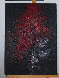 Acrylmalerei, Malerei, Wut