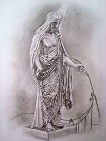 Liebe, Zeichnung, Skulptur, Friedhof
