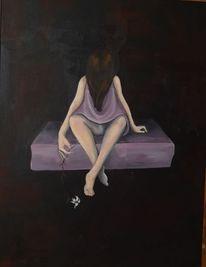 Mädchen, Angst, Unschuld, Dunkel