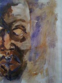 Afrika, Holz, Maske, Gesicht
