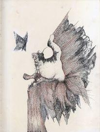 Illustration, Blumen, Fantasie, Zeichnung