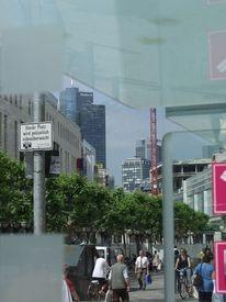 Frankfurt am main, Telefonzelle, Skyline, Fotografie