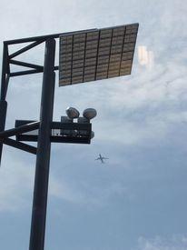 Hinter glas, Flugzeug, Spiegelung, Fotografie