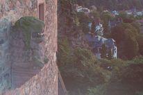 Fresko, Heidelberg, Schloss, Burg