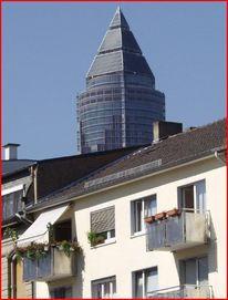 Meeseturm, Bleistiftzeichnung, Fotografie, Architektur