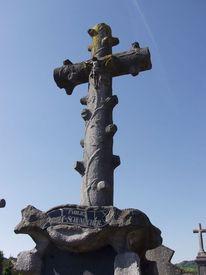 Kreuz, Trauer, Friedhof, Fotografie