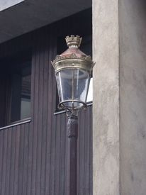 Straßenlampe, Licht, Jugendstil, Fotografie