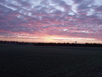 Wolkenspiel, Morgenröte, Himmel, Digitale kunst