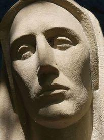 Skulptur, Mutter maria, Fotografie, Architektur