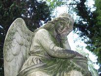 Friddhof, Skulptur, Tod, Trauer