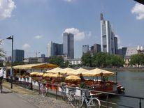 Skyline, Boot, Bankenviertel, Fotografie