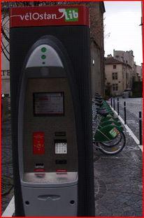 Fahräder, Automat, Nancy, Fotografie