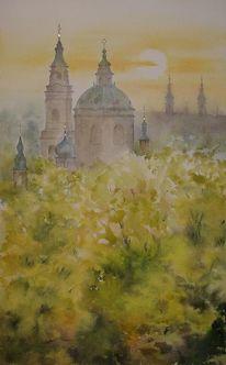 Kirche, Prag, Nikolaikirche, Praha