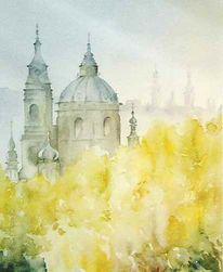 Kostel, Prag, Praha, Nikolaikirche