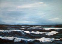 Welle, Wasser, Nordstrand norderney, Strand