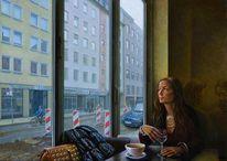 Malerei realistisch, Ölmalerei, Ganre, Technik des 17