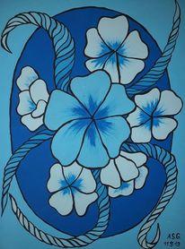 Pinsel, Blüte, Malerei, Geborgen