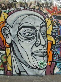 Berlin, Graffiti, Mauerpark, Malerei