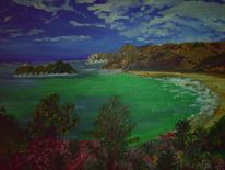 Strand, Insel, Australien, Bucht