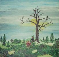 Niederbayern, Baum, Jäger, Herbst