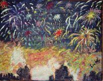 München, Feuerwerk, Sylvester, Lichterspektakel