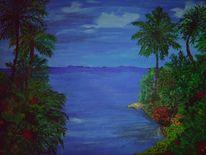 Antilleninseln, Prince rupert bay, Malerei